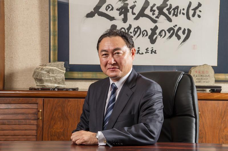 代表取締役 川元正和